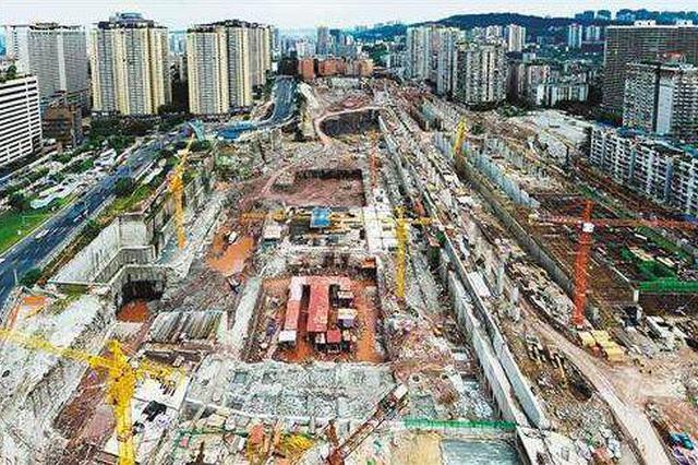 沙坪坝铁路综合枢纽主体工程完工 突破平移布局模式