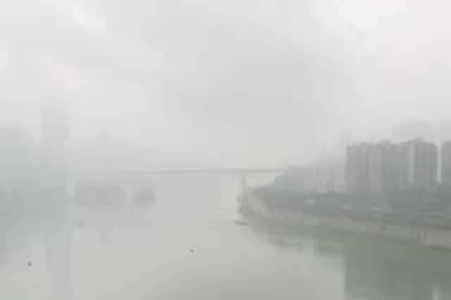 这就是重庆!一下雨就变成了雾都