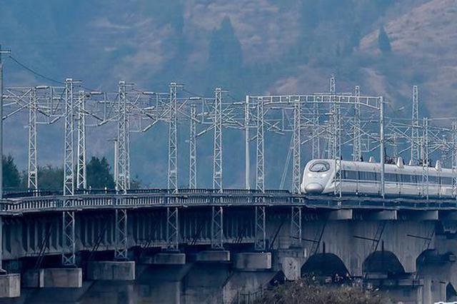 重庆在建铁路项目里程近800公里 总投资约900亿元