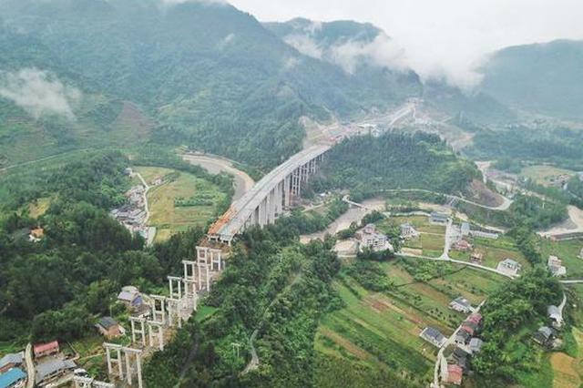 石黔高速预计2020年通车 两地车程将缩小至1小时左右