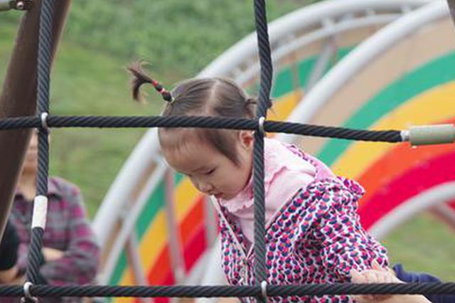 璧山区枫香湖儿童公园正式向公众开放。李力 摄