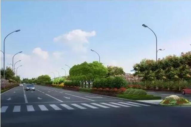 龙港大道(二期)建成通车 前沿科技城到机场更便捷