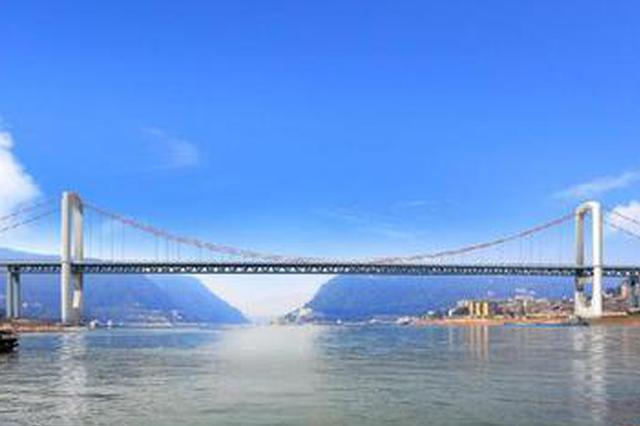 郭家沱长江大桥项目效果图。新华网发(中建六局供图)