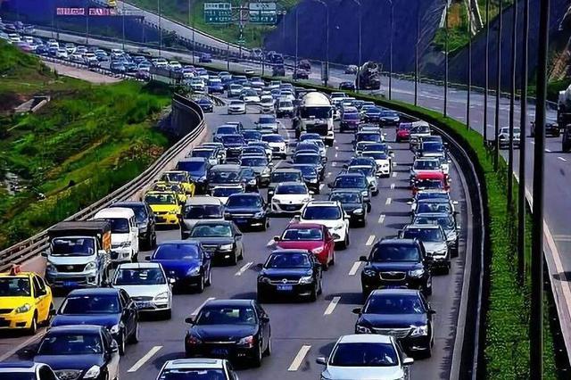 返程车辆请注意 重庆多条高速进城方向车流量较大