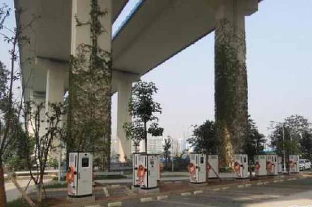 嘉华大桥下修了个露天停车场 竟是违法建筑