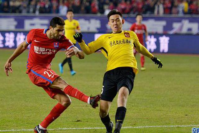 重庆斯威2:0力克广州恒大淘宝 赢得宝贵3分