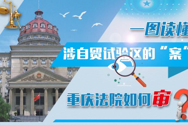 """一图读懂涉自贸试验区的""""案"""" 重庆法院如何审?"""