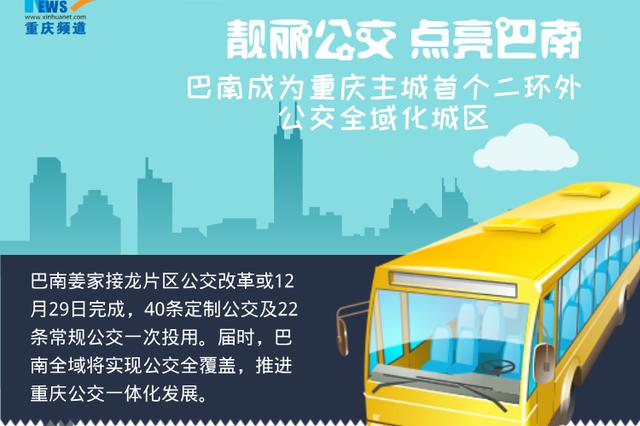 【图解】巴南成为重庆主城首个二环外公交全域化城区