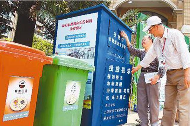 重庆主城区23个街镇实施垃圾分类试点 奖惩分明