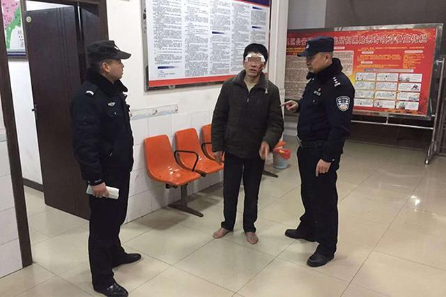 重庆男子遭家暴到派出所求助 听妻子可能被拘忙打圆场