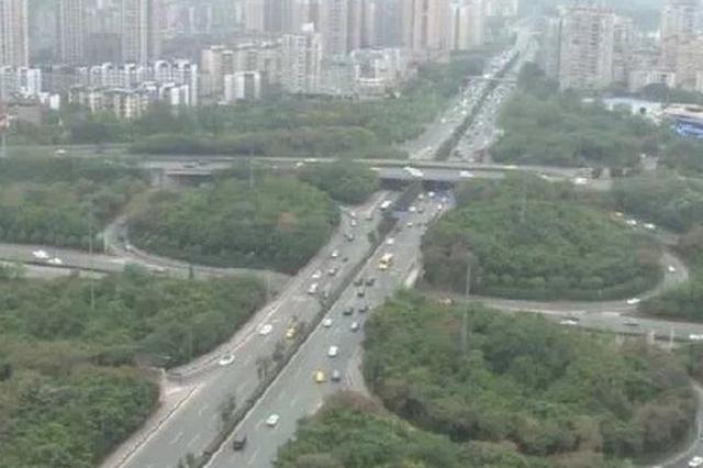 人和立交一期改建工程完工 2019年春节前可实现通车