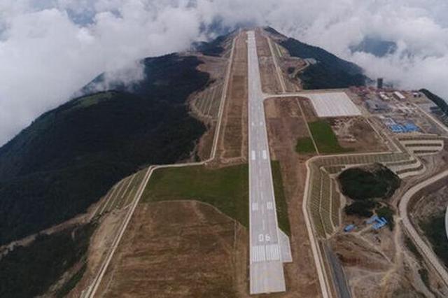 巫山机场今年上半年有望通航 首开航线巫山至重庆