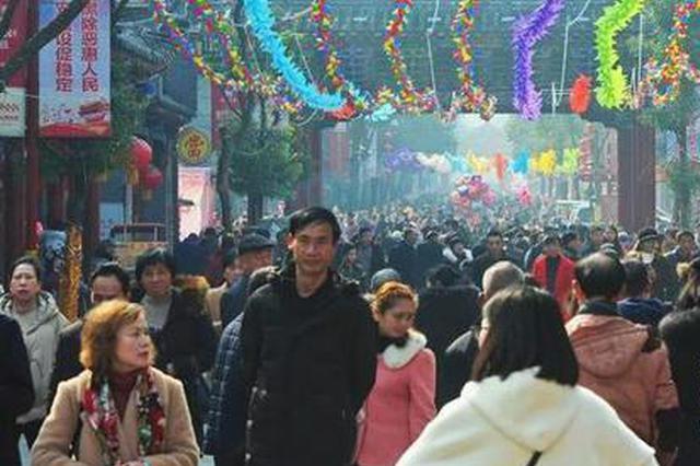 春节长寿景区人气火爆 共接待游客132.43万人次