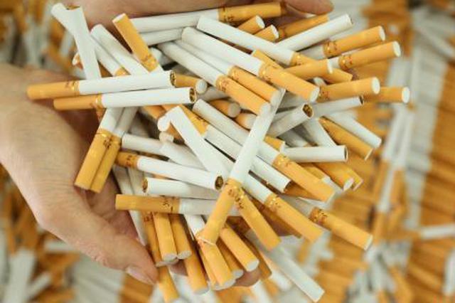 重庆警方破获特大假烟案 查获原料百余吨涉案上亿元