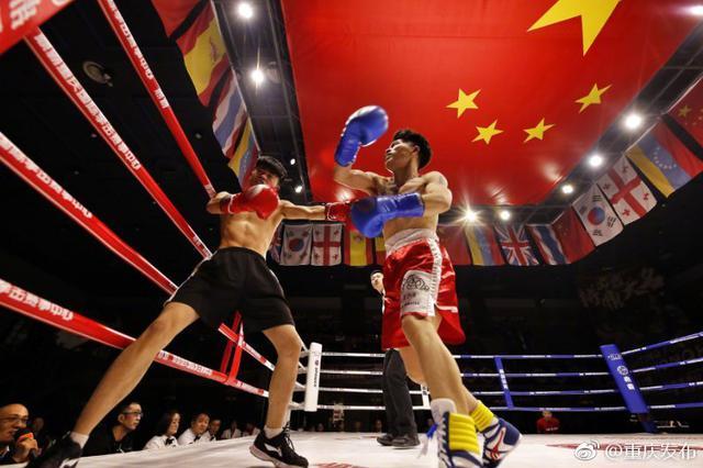 霸气!2019重庆国际拳击赛事中心俱乐部联赛开战