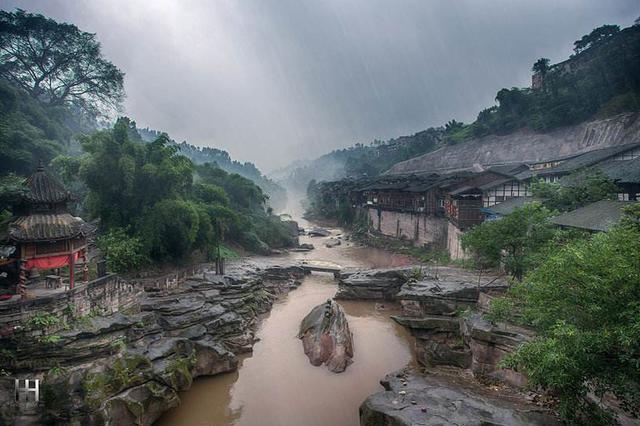 """重庆中山:依然""""活""""着的千年古镇"""
