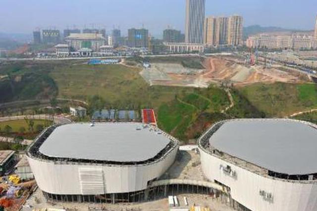 重庆新增打卡地标!渝北全民健身中心下月正式投用