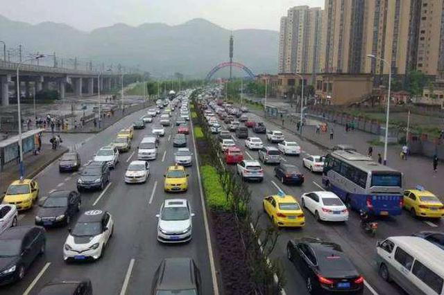 主城交通运行态势预测分析:早晚高峰这些路段要堵