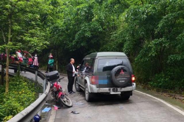 驾驶员自认乡村道路车不多 不料加速行驶惹事故