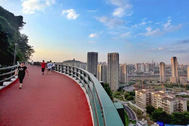 主城滨江步道新标准 步行道宽度一般情况不小于4米