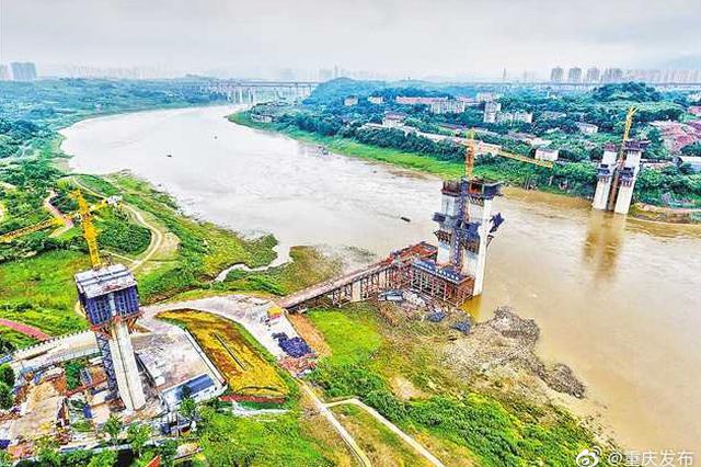好消息!重庆礼嘉嘉陵江大桥明年合龙