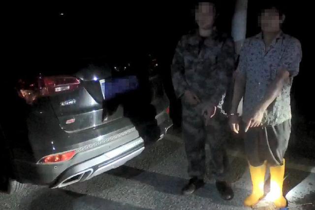 重庆:禁渔期两男子非法捕捞 被采取刑事强制措施