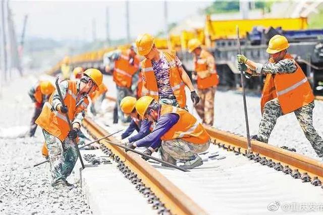黔张常铁路有望年底通车 届时黔江到张家界不到1小时