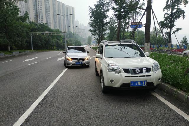 """重庆司机连跨多车道掉头酿车祸 吐槽""""导航惹的祸"""""""