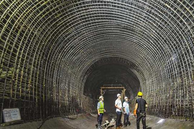 重庆轨道9号线一期顺利推进 与10号线垂直间距仅3米