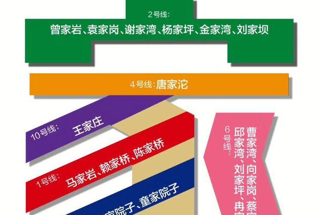 """知道吗?重庆轨道交通站名中出现最多的字是""""家"""""""