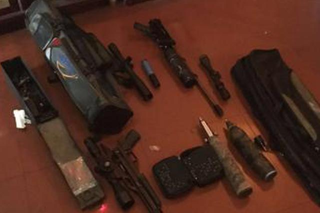 重庆警方打掉一跨省网络贩卖枪支配件团伙 缴枪7支