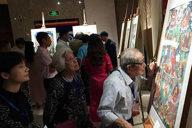 45幅西藏唐卡艺术作品来渝展出 为期一个月