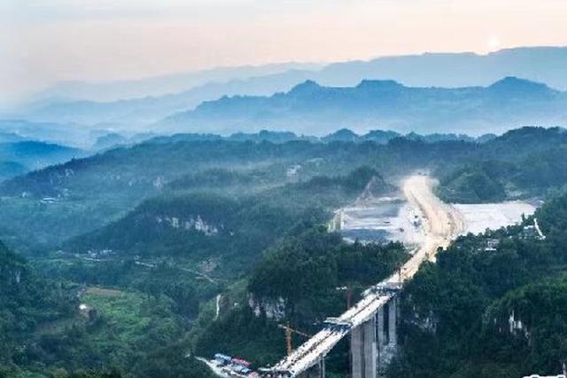 重庆新建一条高速路明年通车 从石柱1小时到黔江