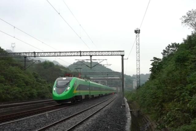 中国第一条无砟铁路在哪里?就在北碚蔡家附近