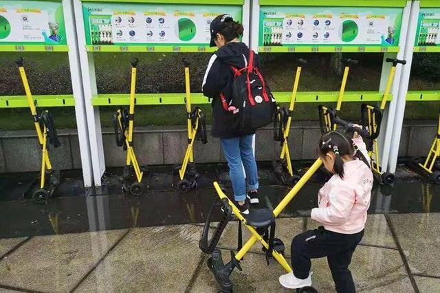 重庆动物园配套180辆共享儿童推车 方便亲子家庭游