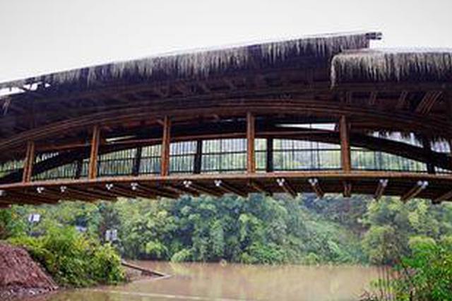 """用716根毛竹建造 重庆这座桥拿下建造领域""""奥斯卡"""""""