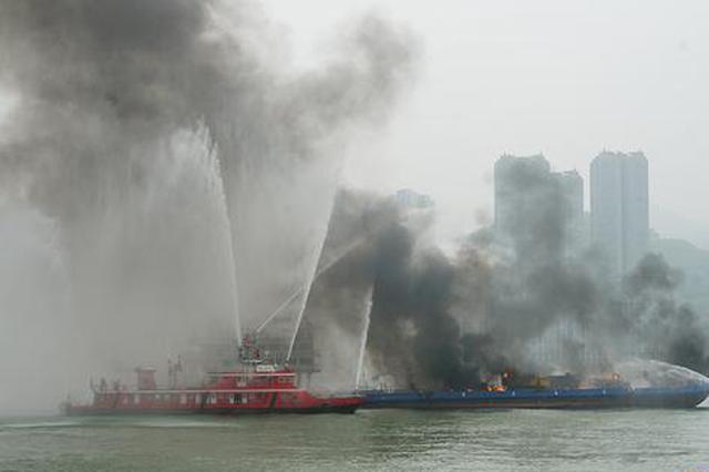 长江干线水上联合搜救演习 高新设备首次集中应用