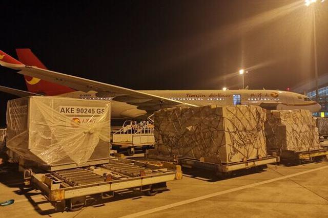 """重庆机场开通""""国际转国际""""空空中转货运业务"""
