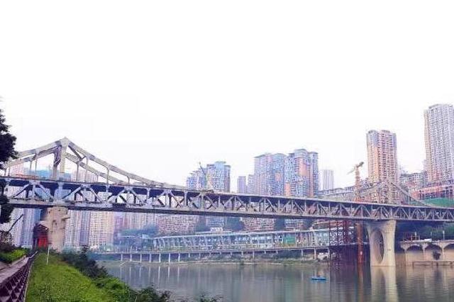 曾家岩嘉陵江大桥有新进展 将建国内首个桥上轨道站