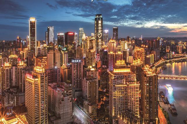 灯火璀璨不夜城!重庆城市道路路灯安装率超99.8%