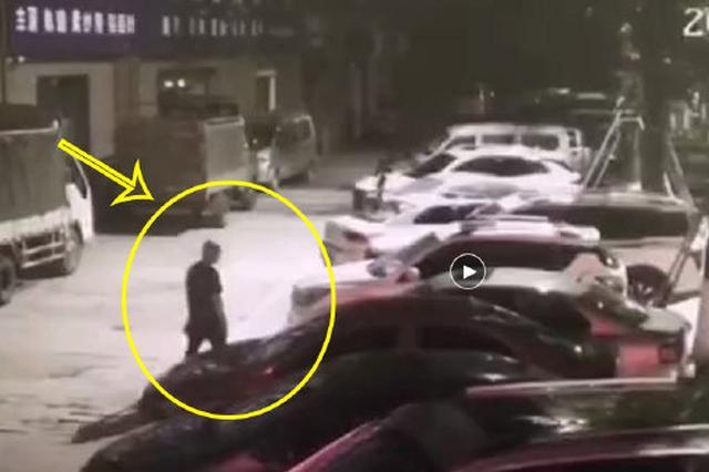 """男子""""碰运气""""式盗窃未锁门车辆 终被警方抓获归案"""