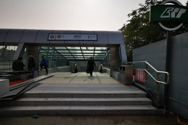地铁环线南桥寺站将于15日开通 车站设有5个出入口