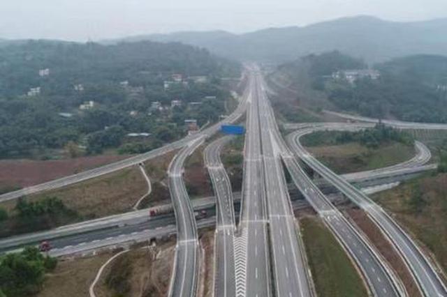 重庆潼荣高速公路建设取得重要进展 月底即将通车