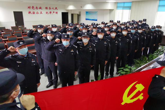 """渝北公安成立58支""""疫情防控""""党员先锋突击队、38个党员先锋"""