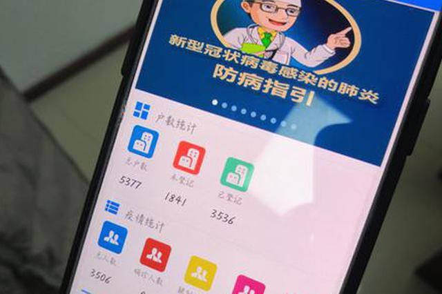 重庆渝中首个新冠肺炎疫情监管跟踪系统上线