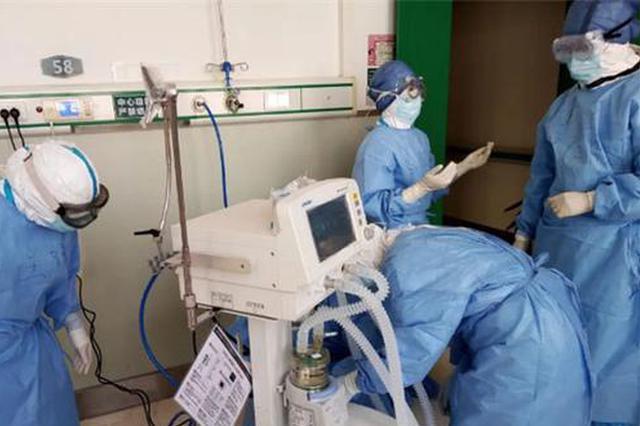 重庆援武汉国家医疗队建立首个病区内临时ICU