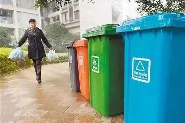 10月底前 重庆主城城区生活垃圾分类将实现全覆盖