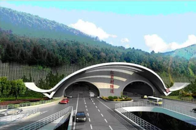红岩村隧道有望年底完工 双向6车道设计时速80公里