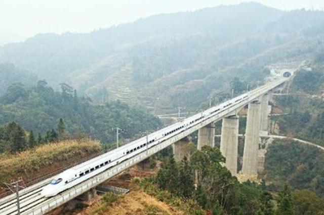 """多条高铁年内开建 重庆铁路项目建设正在""""加速跑"""""""