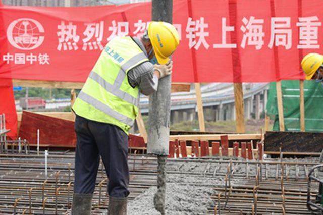 """重庆轨道交通4号线二期全线桥梁施工按下""""快捷键"""""""